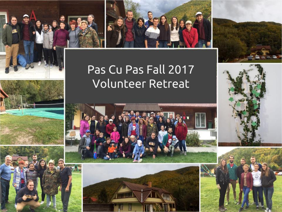 2017 Volunteer Retreat collage